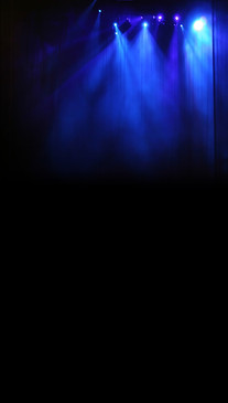 Blue Spotlights Backdrop