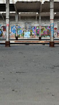 Graffiti Building Backdrop