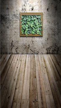 Ivy Window Backdrop