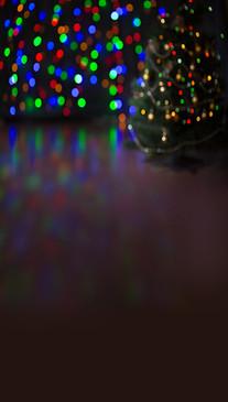 Bokeh Christmas Lights Backdrop