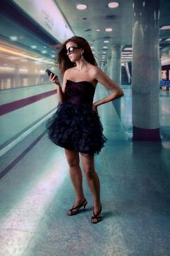 Subway Photography Background