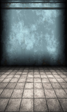 Blue Concrete Wall Backdrop