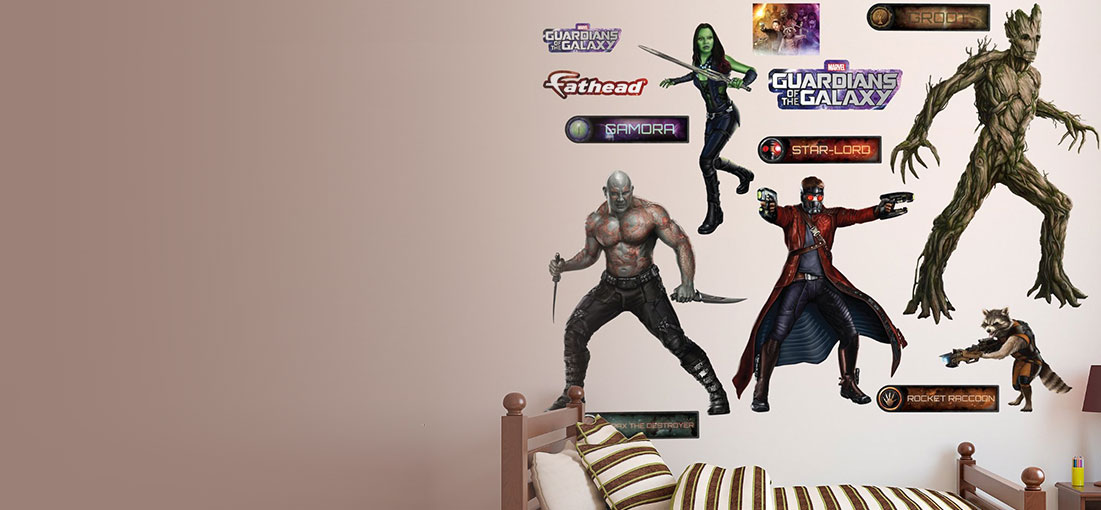 New Guardians of the Galaxy Fatheads in store
