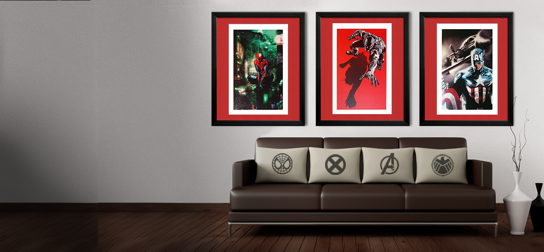 Marvel Art Gilcee Prints
