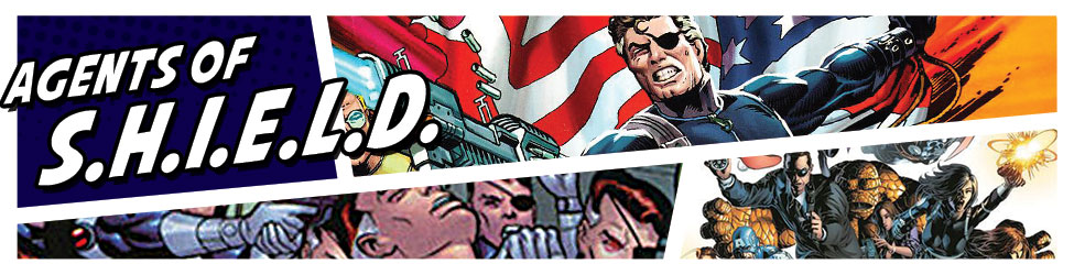 Join the ranks of Nick Fury's Agents of S.H.I.E.L.D with this great Marvel merchandise.