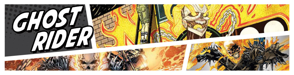 Ghost Rider Art, Merchandise and Collectibles - Marvel