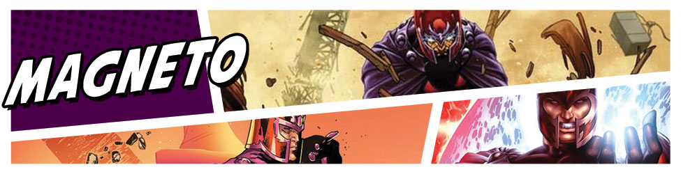 He controls metal and quite often the fate of human destiny, celebrate Magneto with original Marvel animation art.