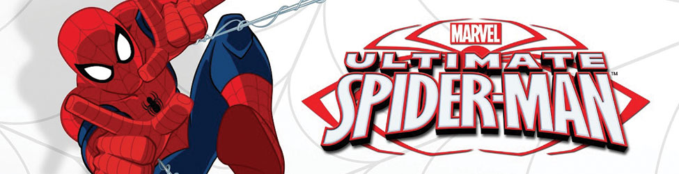 Amazing animation art of Peter Parker as Spider-Man in this Marvel original series Ultimate Spider-Man, available exclusively through HeroWiz.