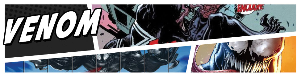 Venom and his symbiotes are Spidey's ultimate foe... get great Venom merchandise at HeroWiz.