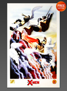 Alex Ross X-Men Classic Art Print Lithograph - Limited Edition from 1999