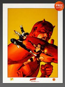 Frank Miller's Daredevil Art Print