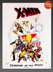 X-MEN Children of the Atom Lithograph by Arthur Adams 2004