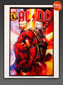 IronMan AC/DC Rare Art - Limited Edition