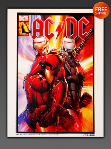 IronMan AC/DC Rare Art - Limited Edition