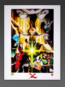 Alex Ross Limited Edition UNIVERSE X Superheroes Lithograph from Marvel Comics and Dynamic Forces