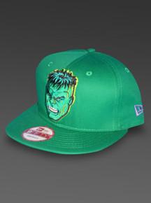 Hulk New Era 9Fifty Snapback Hat Marvel Comics Adjustable Cap
