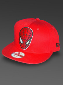 Spider-Man New Era 9Fifty Adjustable Hat Snapback from Marvel Red