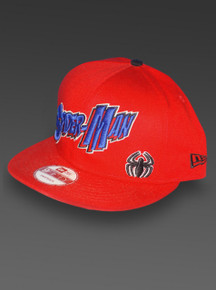 Spider-Man New Era 9Fifty Snapback Adjustable Red Hat from Marvel