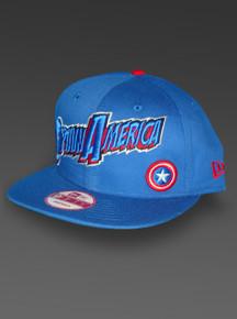 Captain America New Era 9Fifty Snapback Adjustable Cap Hat from Marvel