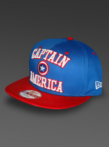 CAPTAIN AMERICA Marvel Comics New Era 9Fifty Adjustable Snapback Hat