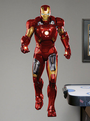 FATHEAD Iron Man: Avengers Live Action Photo Graphic Wall Décor
