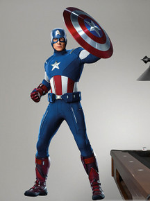 Captain America Fathead Wall Graphics from The Avengers Movie