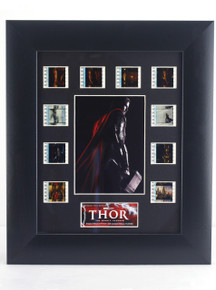 Thor Movie 35mm Film Cel Art Framed