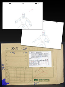 Entire folder Wolverine and the X-men original animation art drawings S01E20B96
