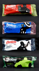 Avengers 3d Glasses set of 4