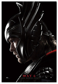 Original Thor Profile Light Box Theatrical Poster From Marvel Studios.