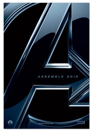 Avengers Assemble 2012 SD Comic Con Exclusive Poster