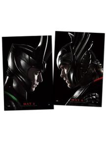 Authentic Marvel Studios Thor Movie Poster Set