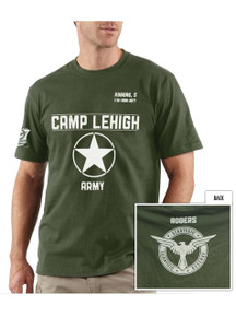 Captain America Rare Tshirt from San Diego Comic Con 2010 Promotion Only - Camp Lehigh