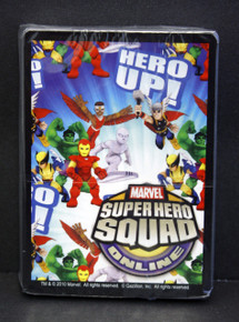 MARVEL Super hero Squad Show Card Game DECK OF 54 CARDS NEW STILL SHRINK WRAPPED