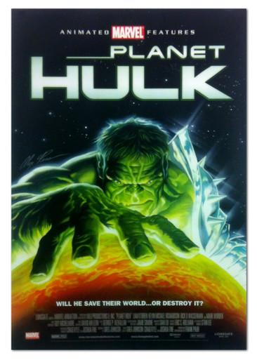 Marvel Planet Hulk Movie Poster