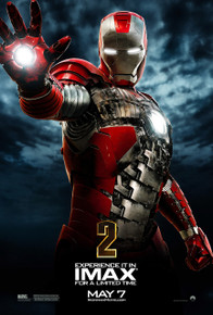 Ironman 2 Imax Poster from Marvel Studios