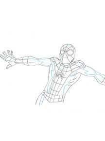 Ultimate Spider-Man Animation Art - Marvel Studios Collection