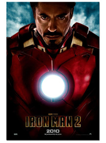 "Iron man 2 Movie Poster Light box. ""Heartless"""