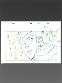Human Torch Animation Art