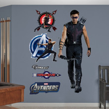 Hawkeye Fathead Live action wall graphic. An awesome Marvel Character.