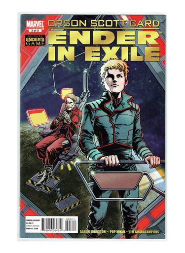 Orson Scott Card's Ender in Exile #3 Comic Book