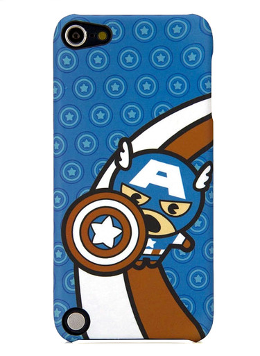 PDP Marvel Kawaii Captain America Clip Case compatible with iPod touch® 5th Gen