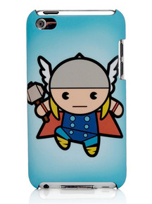 Kawaii Marvel Thor Ipod 4th gen protective case