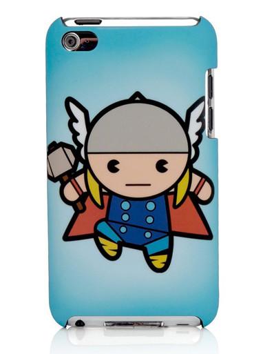 Kawaii Marvel Thor Ipod 4th gen protective case