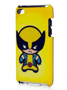 Marvel Superhero Kawaii Style Case for I-pod Touch (4th Generation) - Wolverine (IP-1582)