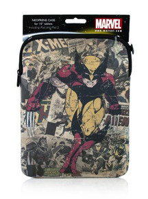 "Wolverine & X-Men 10"" ipad/tablet case (Marvel)"