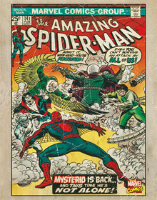 The Amazing Spider-Man #141 Tin Sign 11x14