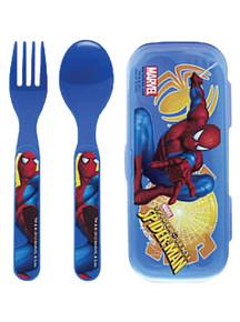 Spider-Man Fork Knife Kit with Case - Zak Design