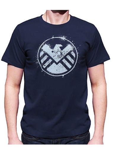 Marvel Agents of Shield Shirt Splatter