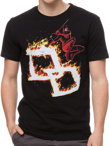 On Sale Daredevil Firebrand Logo T-Shirt for Kids